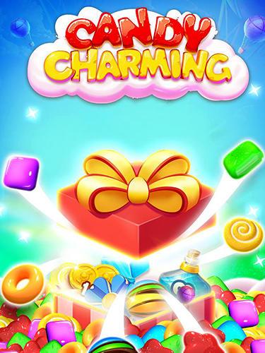 Candy charming: 2018 match 3 puzzle captura de pantalla 1