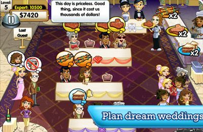 Screenshot Hochzeitplaner Deluxe auf dem iPhone