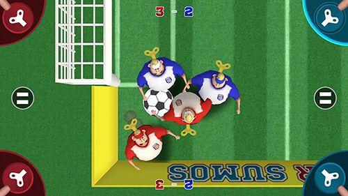 Football des sumos pour iPhone gratuitement