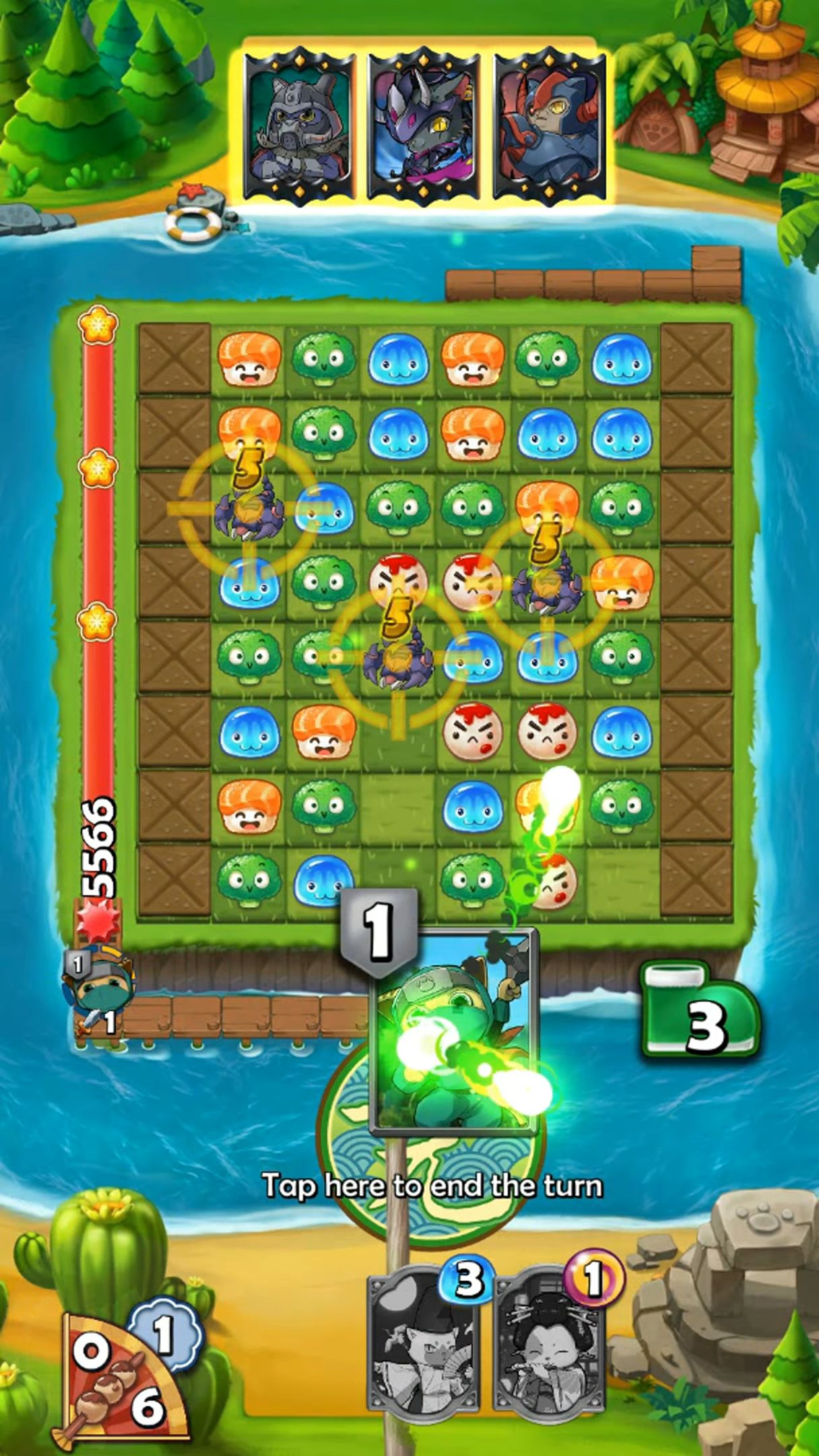 Wasabi Blast: Puzzle Arena pour Android