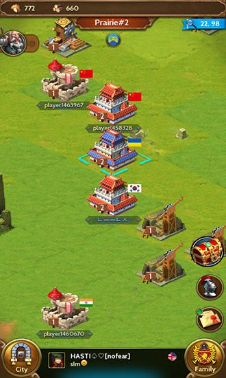 Royal empire: Realm of war für Android