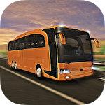 Coach bus simulator Symbol