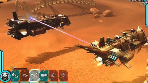 Sandstorm: Pirate wars in Russian