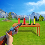 Bottle shooter game 3D icône