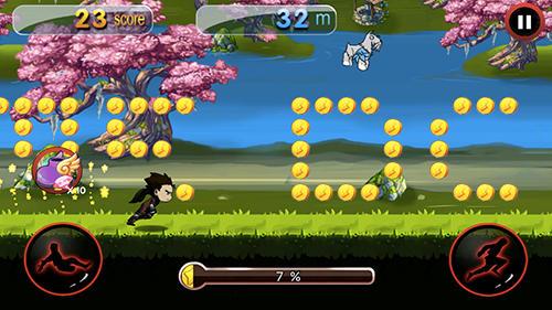 Dragon ninja rush für Android