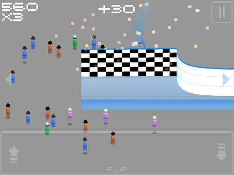 Screenshot Wrüfeliges Snowboarden auf dem iPhone