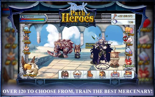Ragnarok online: Path of heroes pour Android
