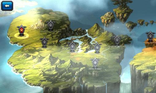 Strategie RPG Dungeon rush auf Deutsch