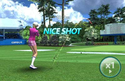 Screenshot Der Golfturnier auf dem iPhone
