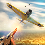 Airplane shooter 3D icon