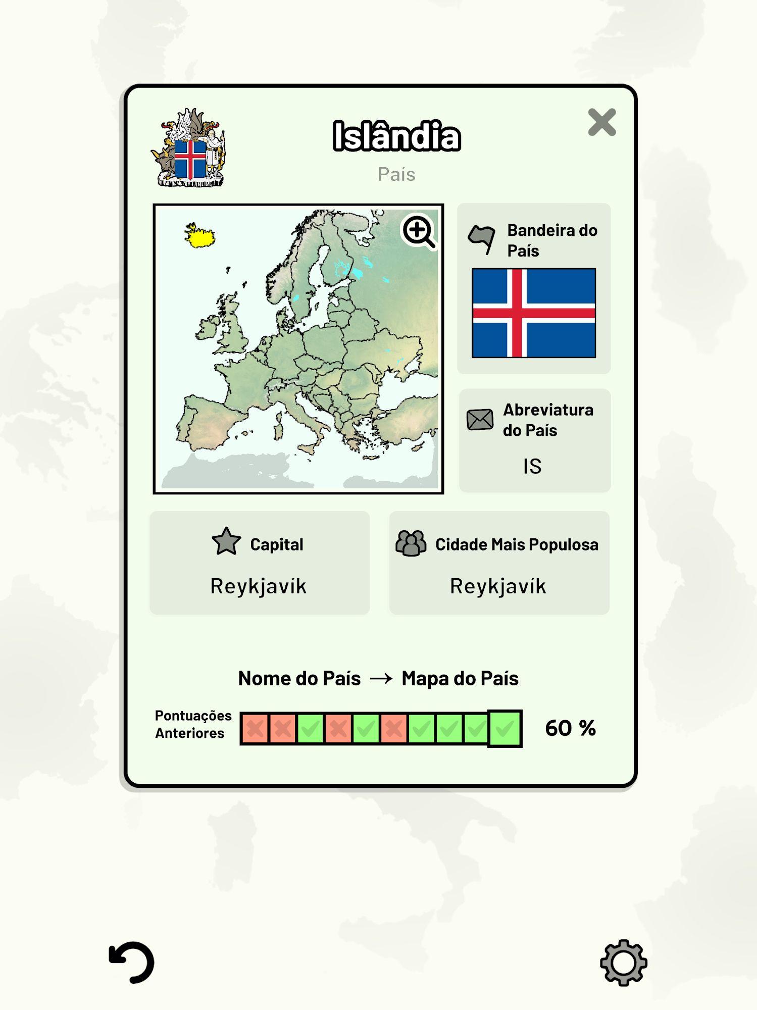 Countries of Europe Quiz - Maps, Capitals, Flags captura de tela 1