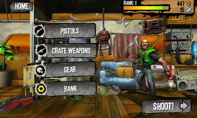 Arcade-Spiele Shoot Many Robots für das Smartphone