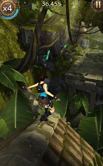 Laufspiele Lara Croft: Relic run für das Smartphone