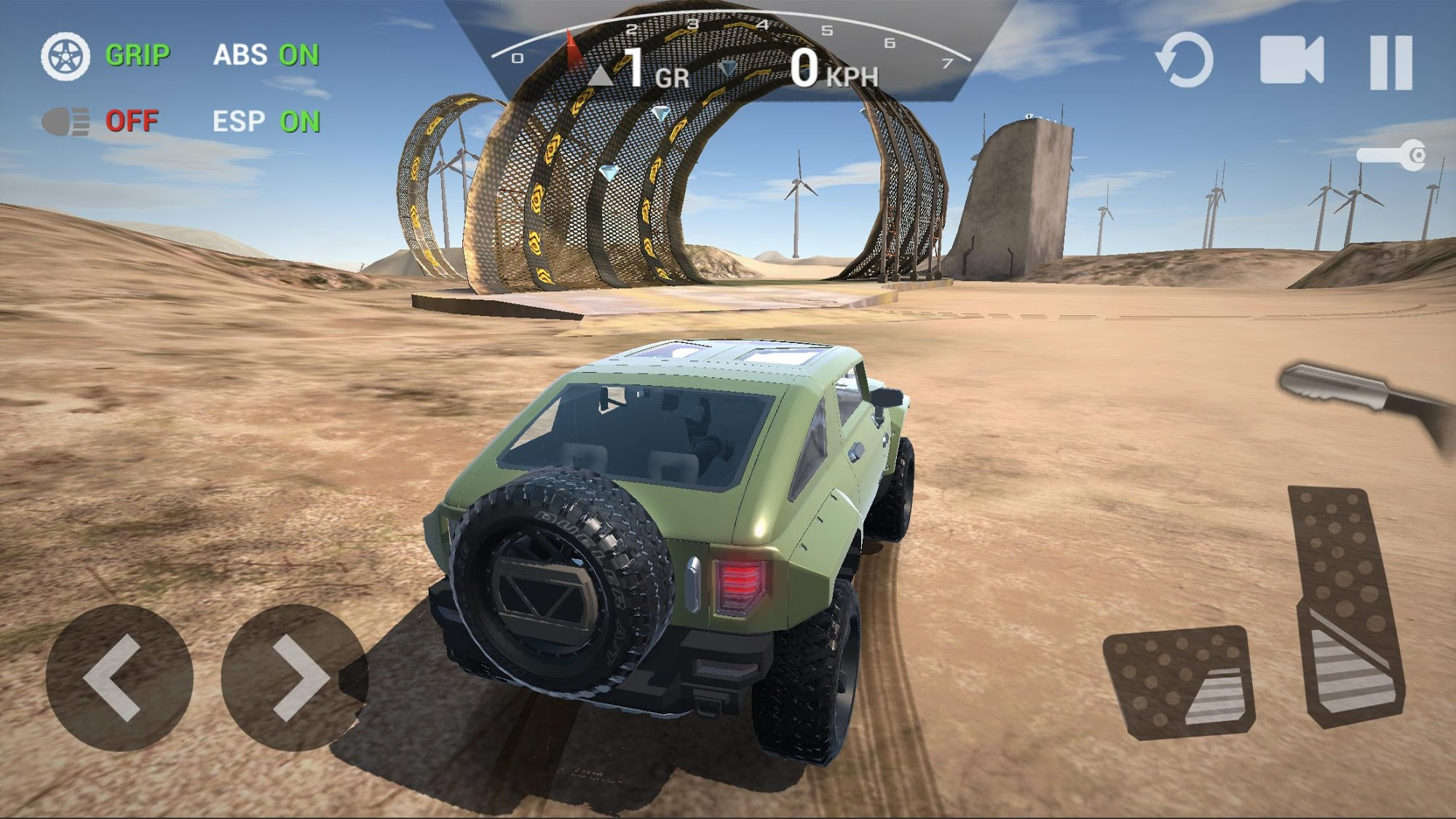 Ultimate Offroad Simulator captura de tela 1