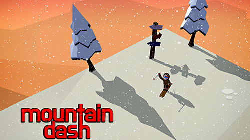 Mountain dash: Endless skiing race screenshot 1