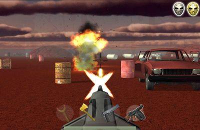 Screenshot Jason gegen Zombies auf dem iPhone