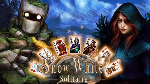 Snow White solitaire. Shadow kingdom solitaire: Adventure of princess captura de tela 1