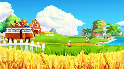 Arcade-Spiele Funky bay: Farm and adventure game für das Smartphone