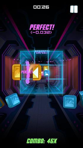 Arcade Beat striker für das Smartphone