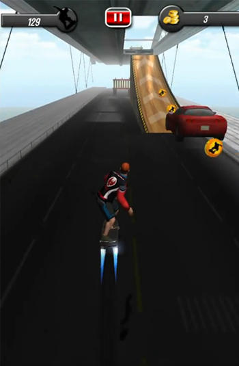 Sky skates 3D for Android