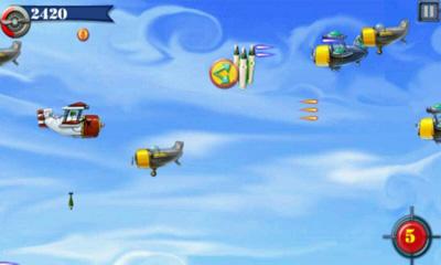 Arcade-Spiele Fly Boy für das Smartphone