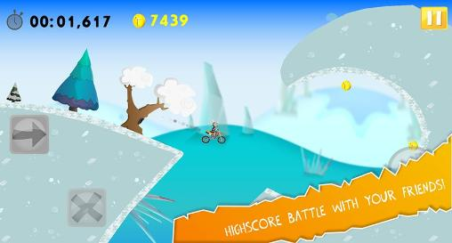 Crashtest hero: Motocross für Android