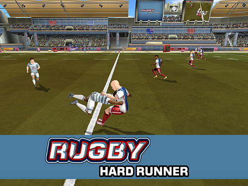 Rugby: Hard runner Screenshot