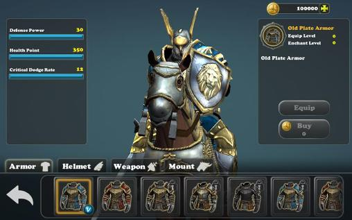 Mount and spear: Heroic knights Screenshot