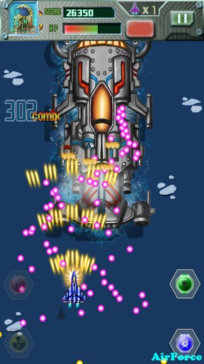 Arcade Ace air force: Super hero für das Smartphone