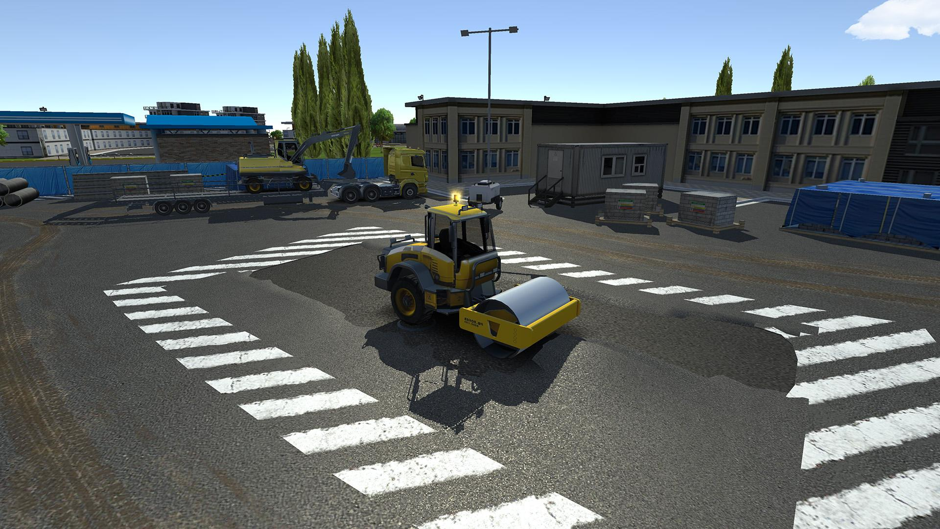 Drive Simulator 2020 captura de pantalla 1