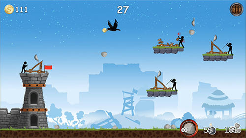 Arcade games The catapult for smartphone