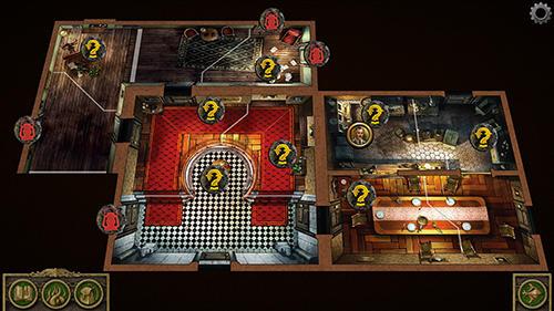Abenteuer-Spiele Mansions of madness für das Smartphone