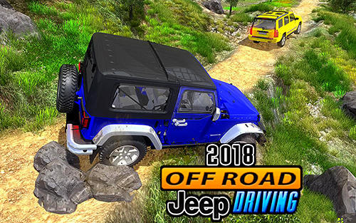 Offroad jeep driving 2018: Hilly adventure driver Symbol
