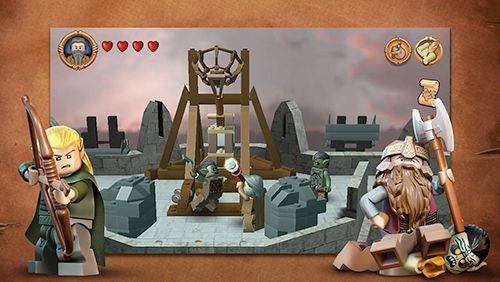Лего: Властелин Колец для Айфон