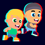 Run race arena icon