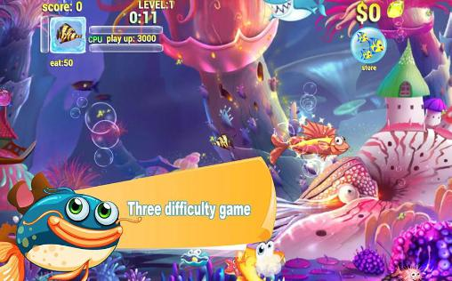 Hungry fish eat HD for Android
