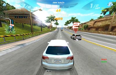 Screenshot Audi RS3 - Strassenrennen auf dem iPhone
