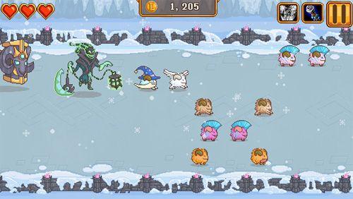 Arcade-Spiele: Lade Blitzcrank's Poro Roundup auf dein Handy herunter