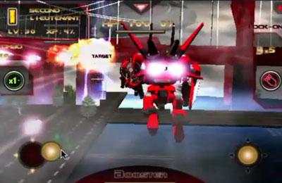 Screenshot Battle 3D: Robots Sky on iPhone