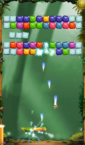 Arcade Armadillo adventure: Brick breaker für das Smartphone
