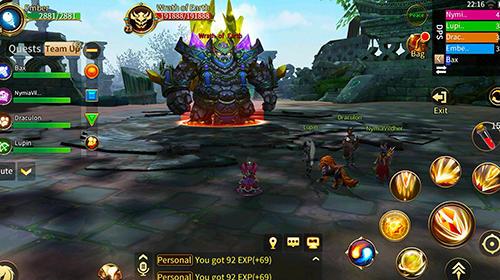 Online RPGs Era of legends: Fantasy MMORPG in your mobile auf Deutsch