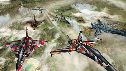Flugsimulatoren Wings of war: Modern warplanes auf Deutsch