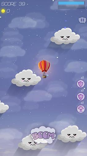 Among the clouds auf Deutsch