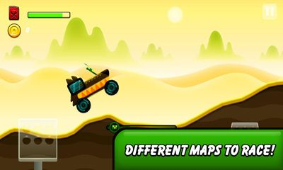 Monsters Climb Race: hill race capturas de pantalla