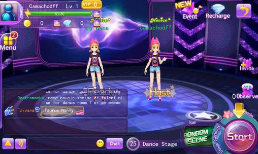Juegos de anime Super dancer: Date your dream en español