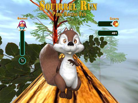 Captura de pantalla La fuga de la ardilla en iPhone