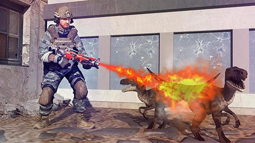 Spiele über Dinosaurier Dinosaur shooter 3D auf Deutsch