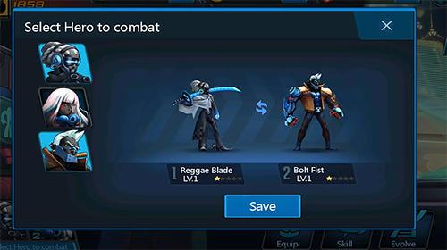 Actionspiele Zombie avengers online für das Smartphone