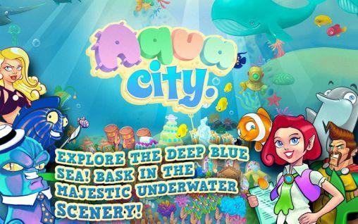 Aqua city: Fish empires captura de pantalla 1