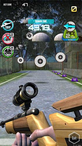 Arcade-Spiele Shooting king für das Smartphone